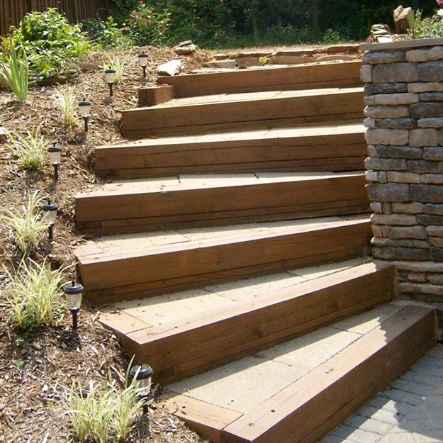 Garden Design Using Railway Sleepers add a touch of personality to your garden with railway sleepers