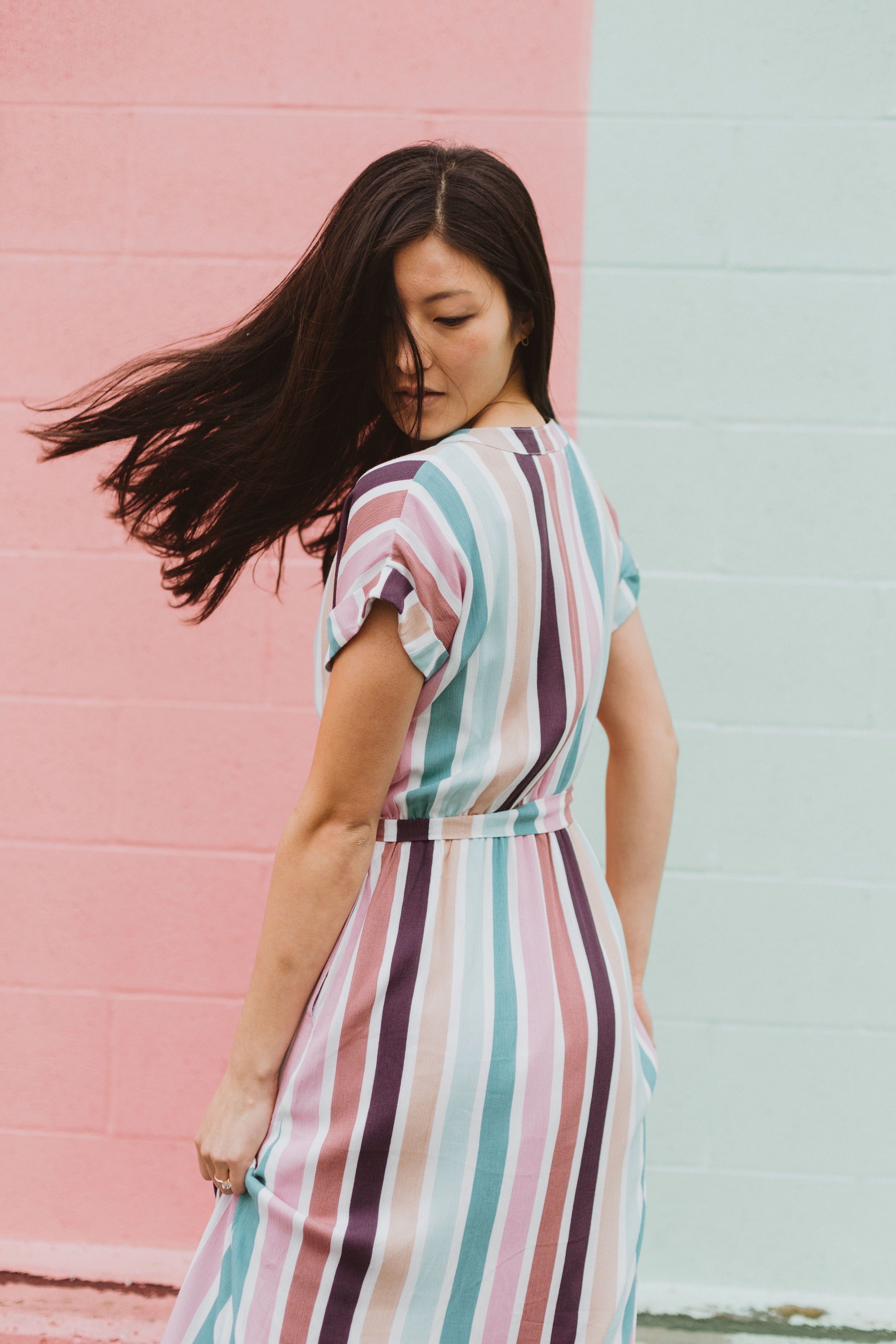 The Cha Cha Striped Maxi Dress Is As If All Your Favorite Things Came Together As A Dress It Is Nursing Frien Maxi Styles Striped Maxi Dresses Fashion Dresses [ 4500 x 3000 Pixel ]