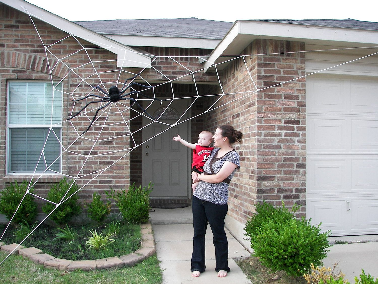 20 ft almost giant spider web halloween house by spiderwebman on etsy excellent