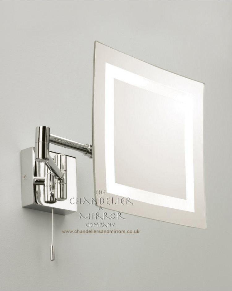 The Art Gallery Olbia Magnifying Bathroom Mirror Light
