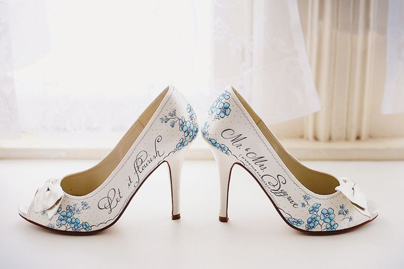 ae9848d2e9fc Design Your Own Wedding Shoes! 23 One-of-a-kind Custom Handmade Bridal Shoes !