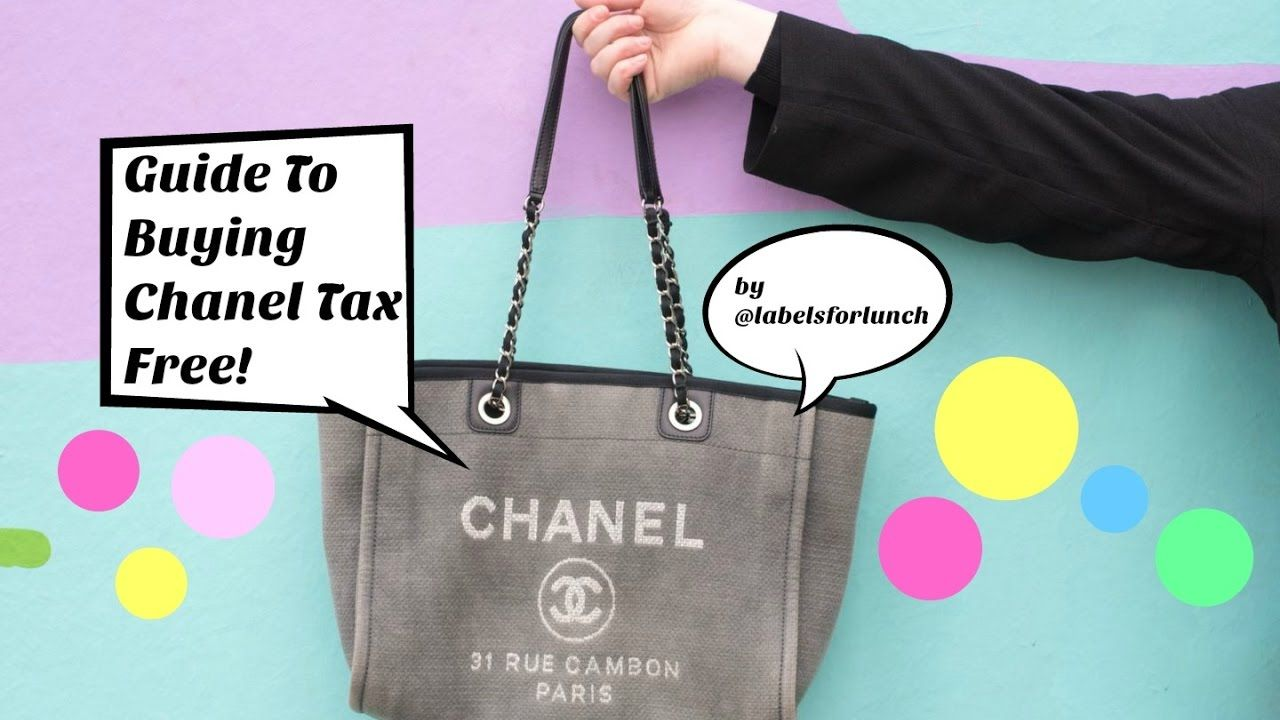 160572455a3cc1 Guide To Buying Tax Free / Duty Free Chanel Handbags & Jewellery! Airpor.