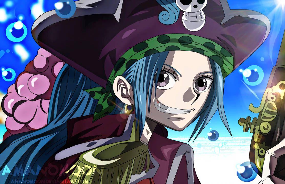 One Piece Nefertari Vivi Queen Of Princess Pirate By Amanomoon
