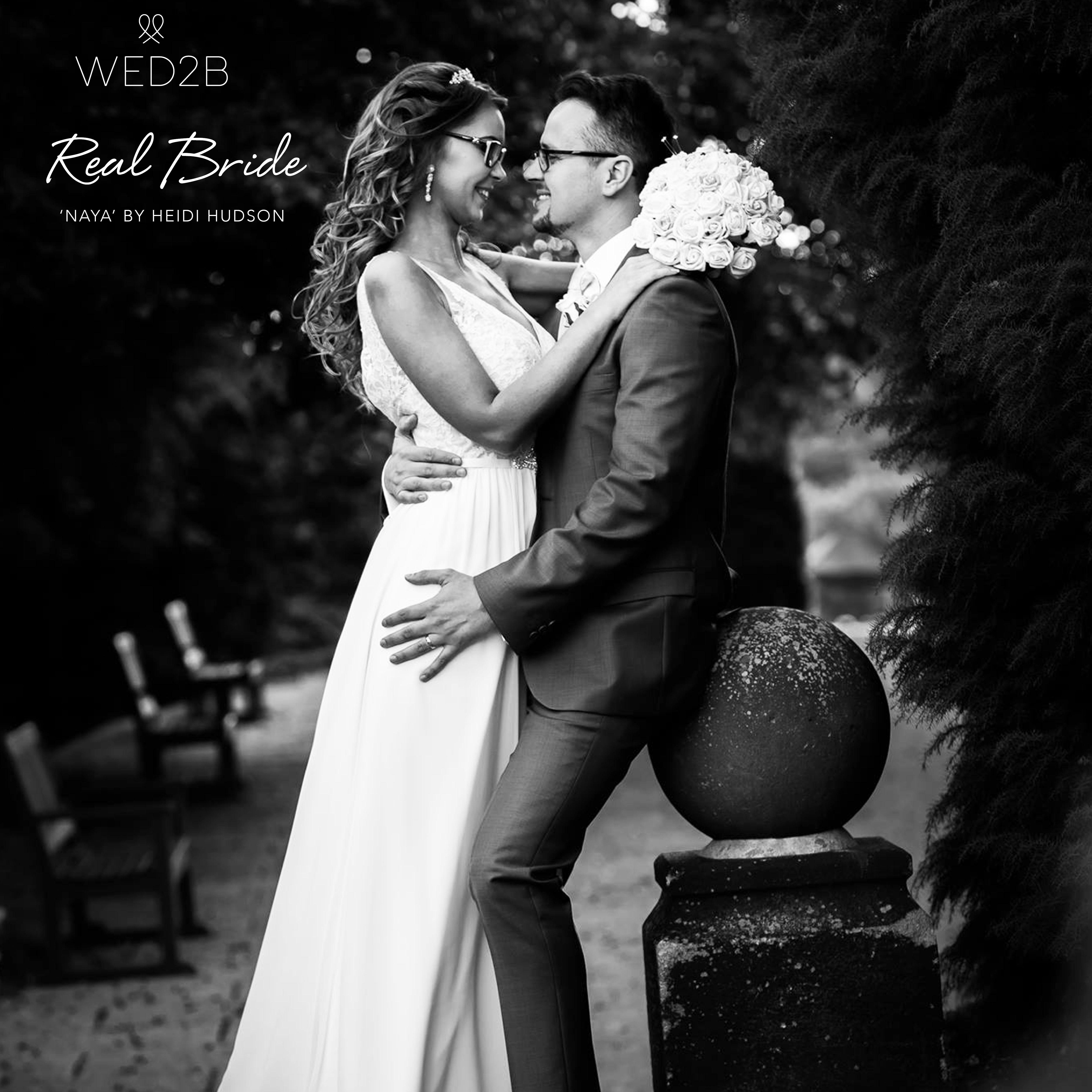 Real Brides Wed2b: Real Bride Vaisa Looks Simply Sensational In 'Naya' By