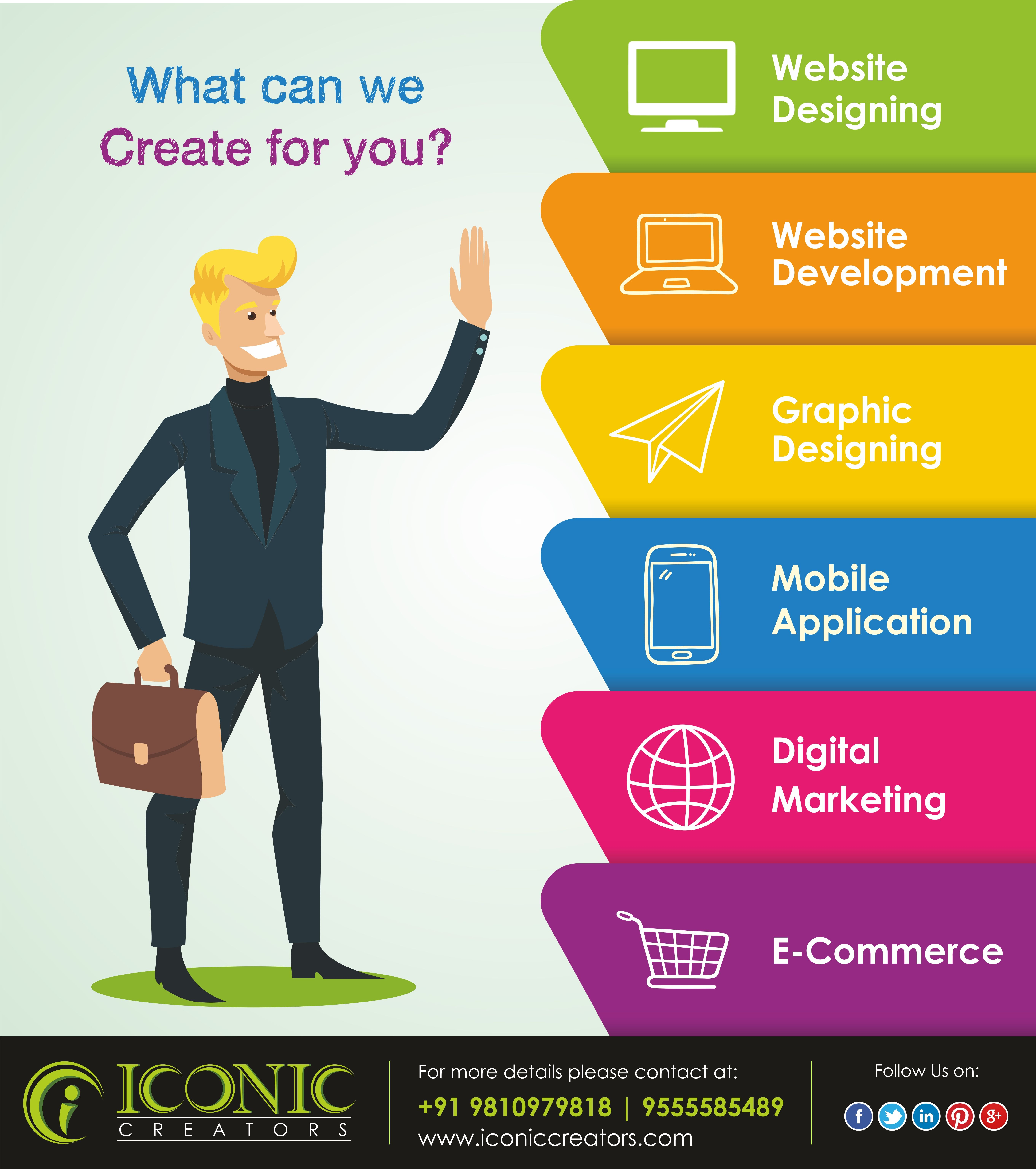 Iconic Creators is topmost website designing company in