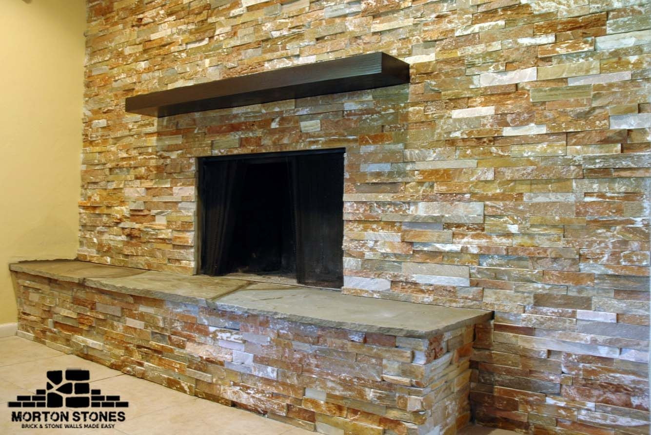 Real Stone Fireplace Model Stone Veneer Fireplace Stone