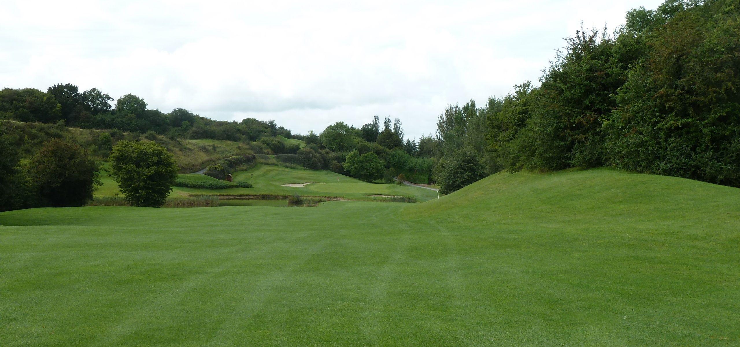Esker hills ireland golf courses golf field