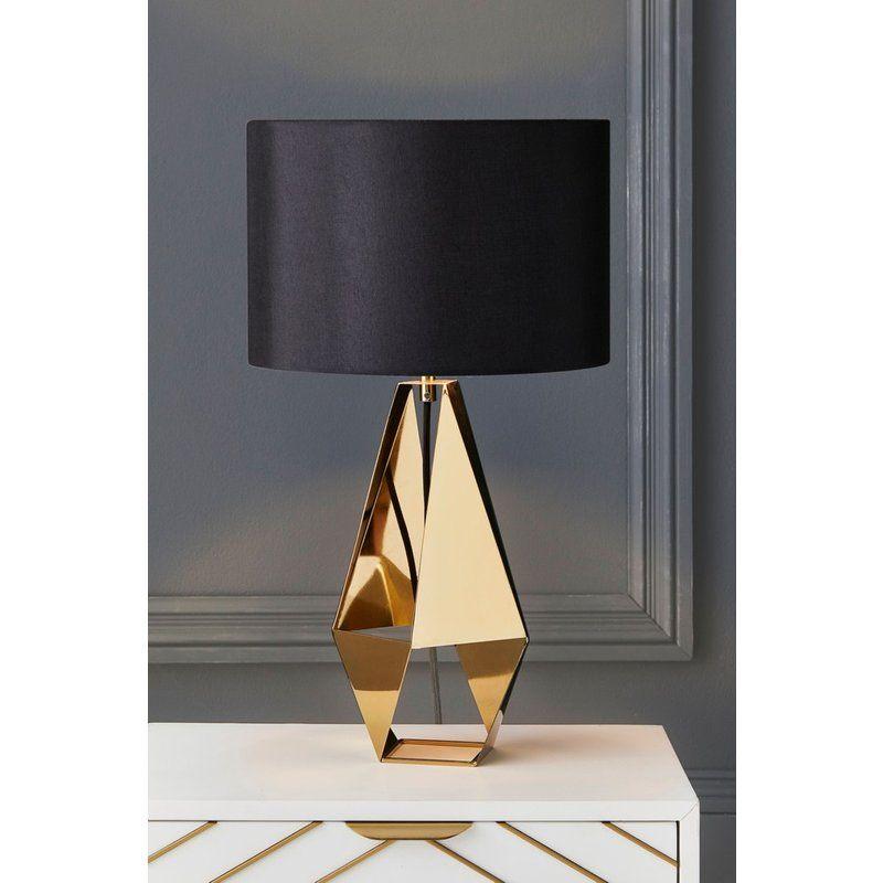 Next Harper Table Lamp Gold Gold Table Lamp Table Lamp Lamp