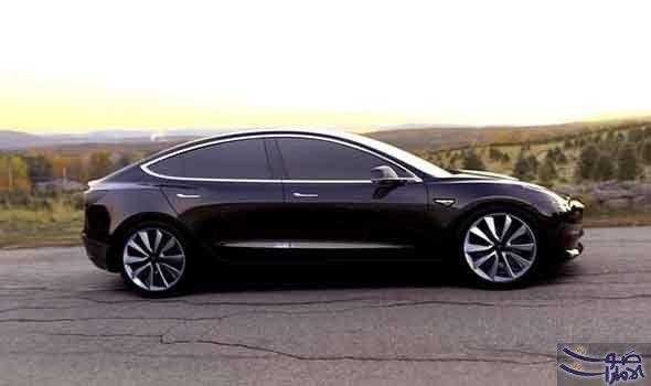 تسلا تكشف عن صور ممي زة لسيارتها نموذج 3 نشر المدير التنفيذي لشركة صناعة السيارة الكهربائية الأميركية تسلا إيلون Tesla Model Tesla Motors Electric Cars