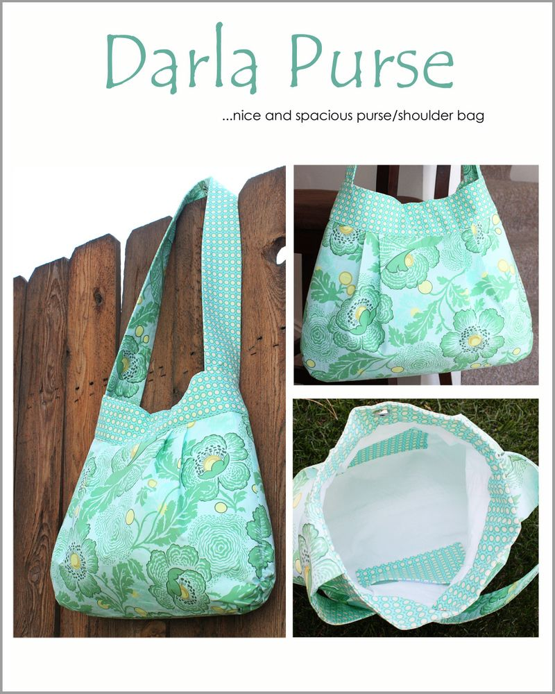 Make It and Love It Shop — The Darla Purse Pattern - PDF Sewing Pattern $6