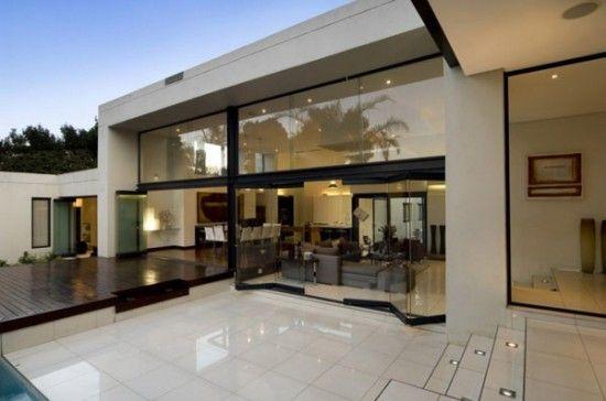 Fachada de casa minimalista de una planta Casas Minimalistas de un - casas minimalistas