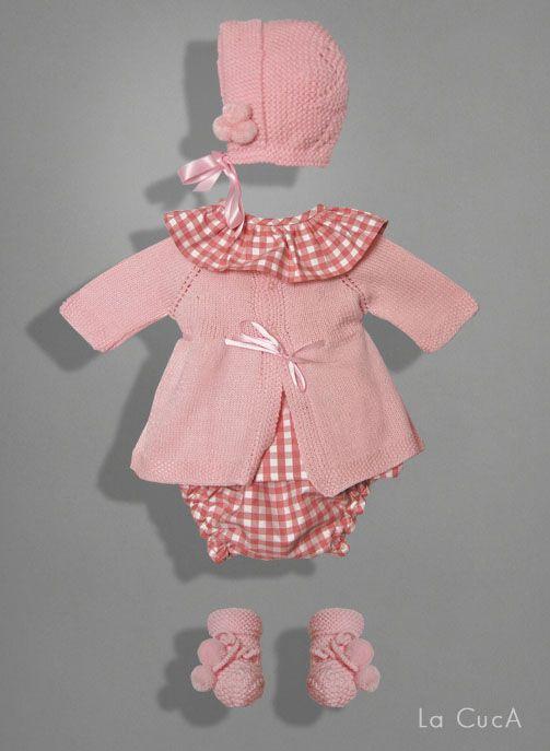 efefffffc Colección ropa infantil La CucA Chaleco De Bebé