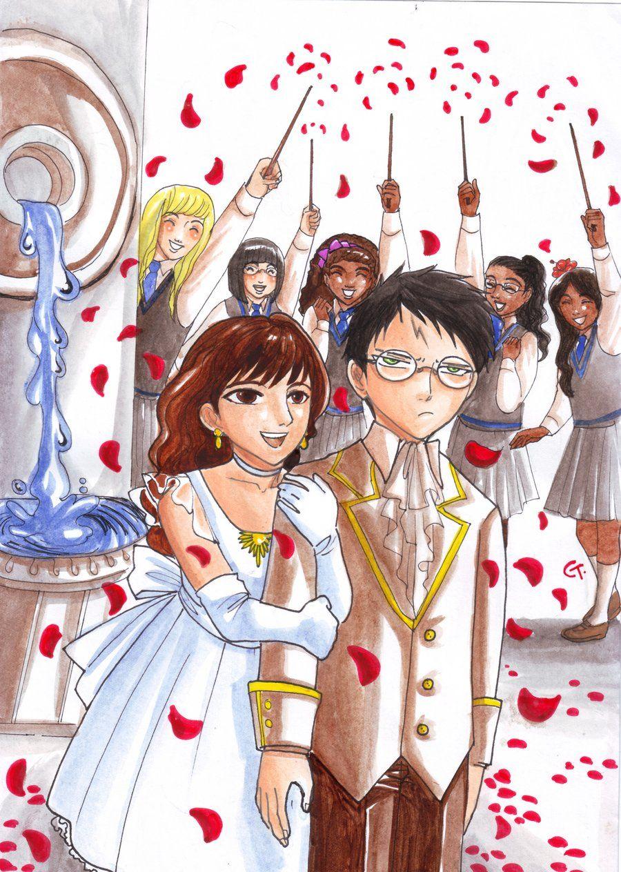Potter S First Date Harry Potter Art Potter Anime