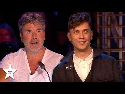 Magician Amazes Simon Cowell on Britain's Got Talent & The ...