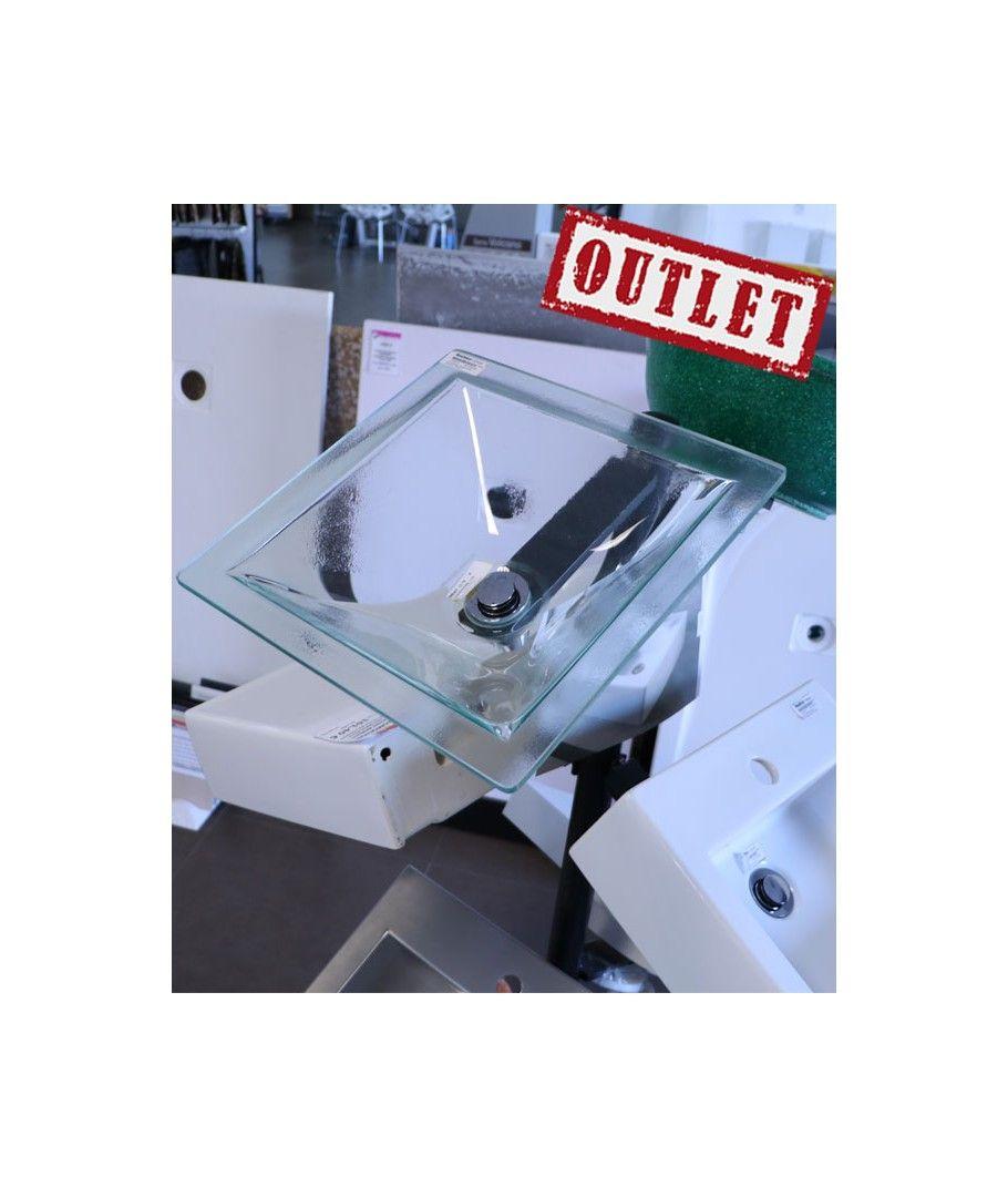 Outlet Baño | Lavabo De Cristal Transparente Cazana Lavabos De Bano Outlet