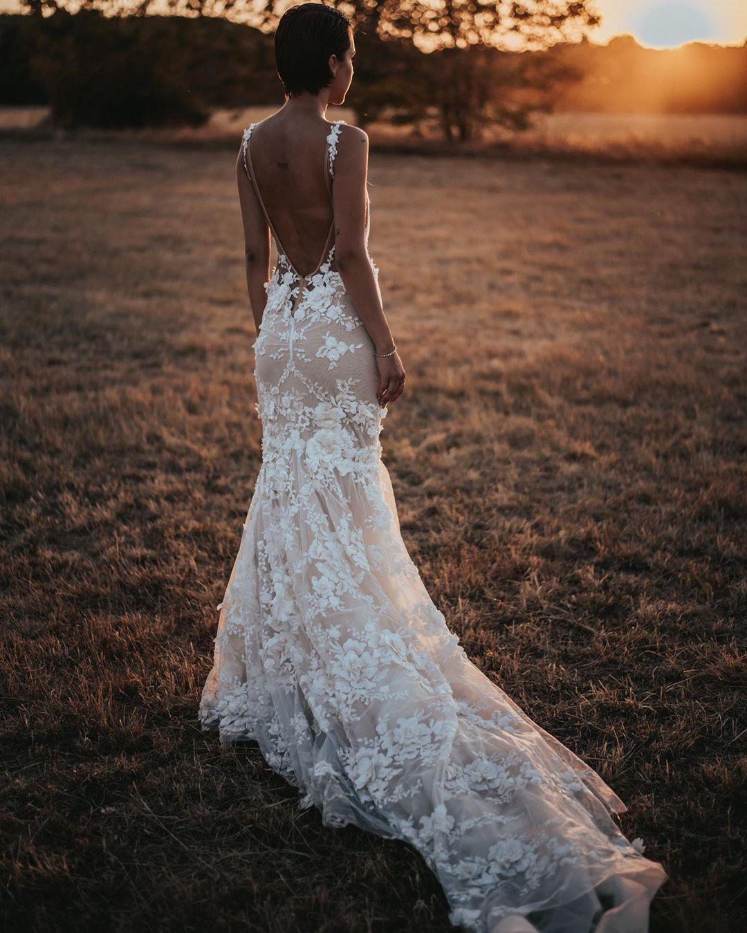 Galia Lahav Elegant Low Back Wedding Dress Wedding Dresses Elegant Wedding Dresses Lace Beach Wedding Dresses Backless [ 1349 x 1080 Pixel ]