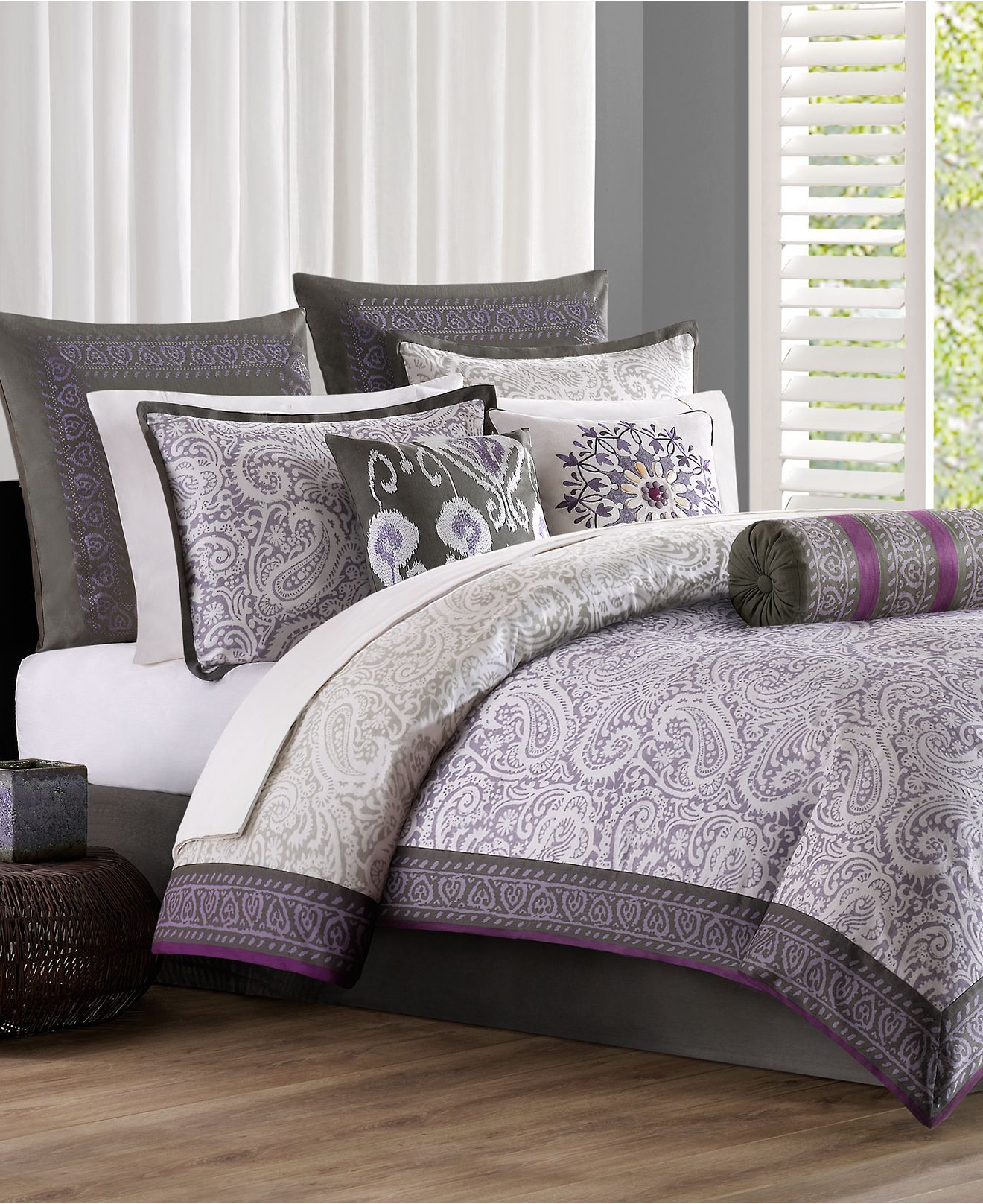 Comforter set (With images) Comforter sets, Paisley