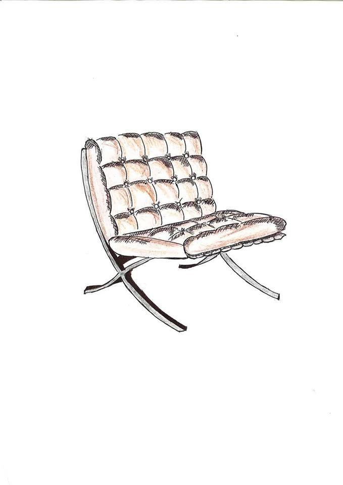 Pin de labcor en croquis mobiliario en 2019 chair - Sofas diseno barcelona ...