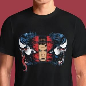 67cf6683 Spiderman Venom Parker T-Shirts India Funny Quotes T Shirts Online Shopping  Graphic Funky Printed Cool Tees For Mens Slogan Womens Clothing Casual  Round ...