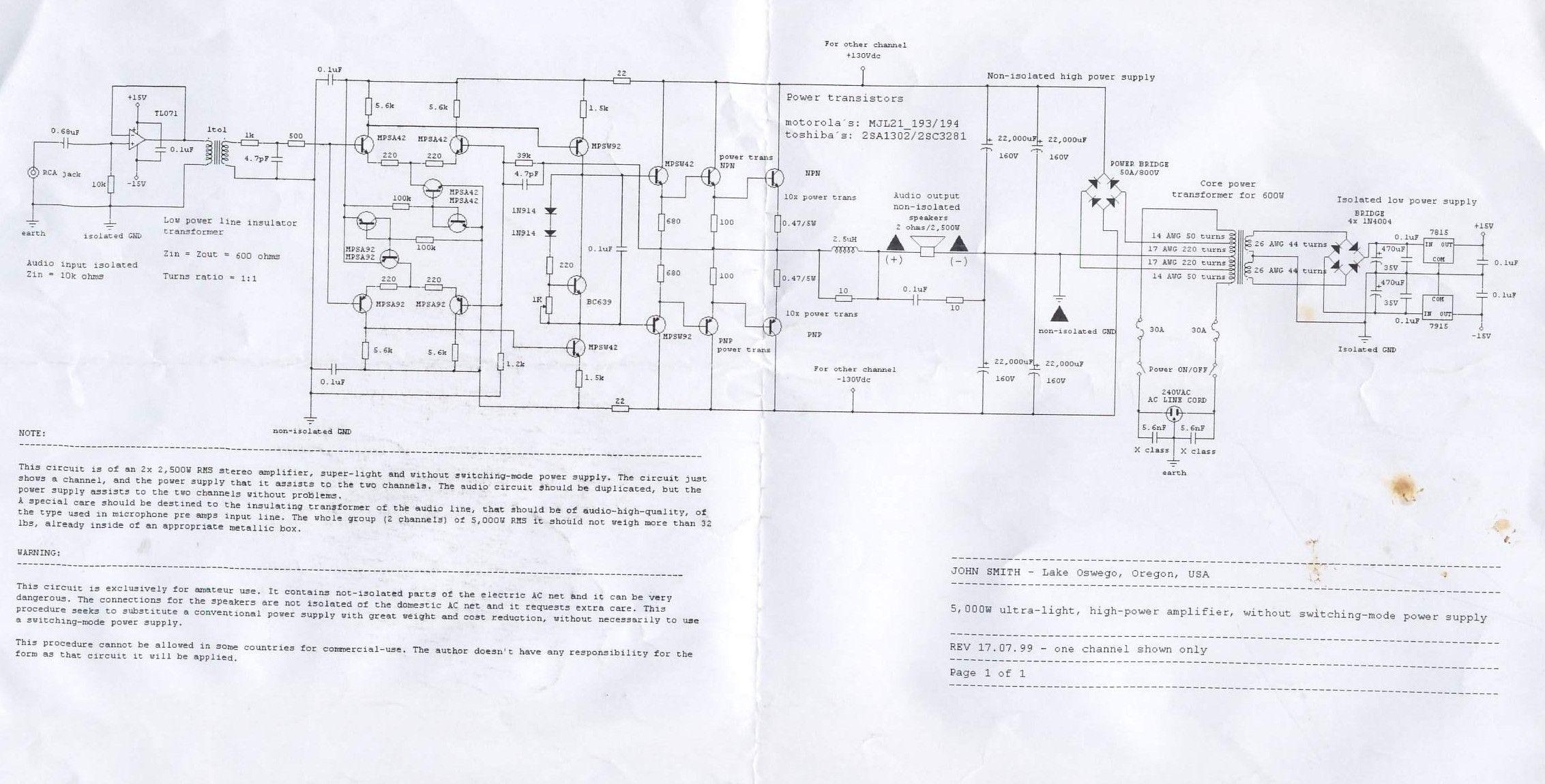W Power Amplifier 1
