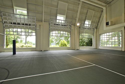 Indoor Basketball Volleyball Court Dream Home