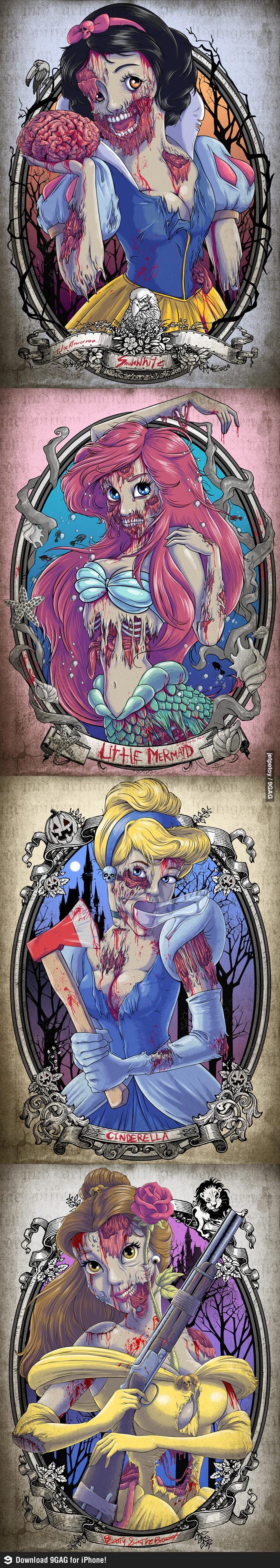 The Zombie Princesses