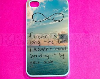 iphone 4 Case, Cute forever love, infinity iPhone 4 Cases, hakuna matata infinity  Iphone 4s Cover,Case for iPhone 4