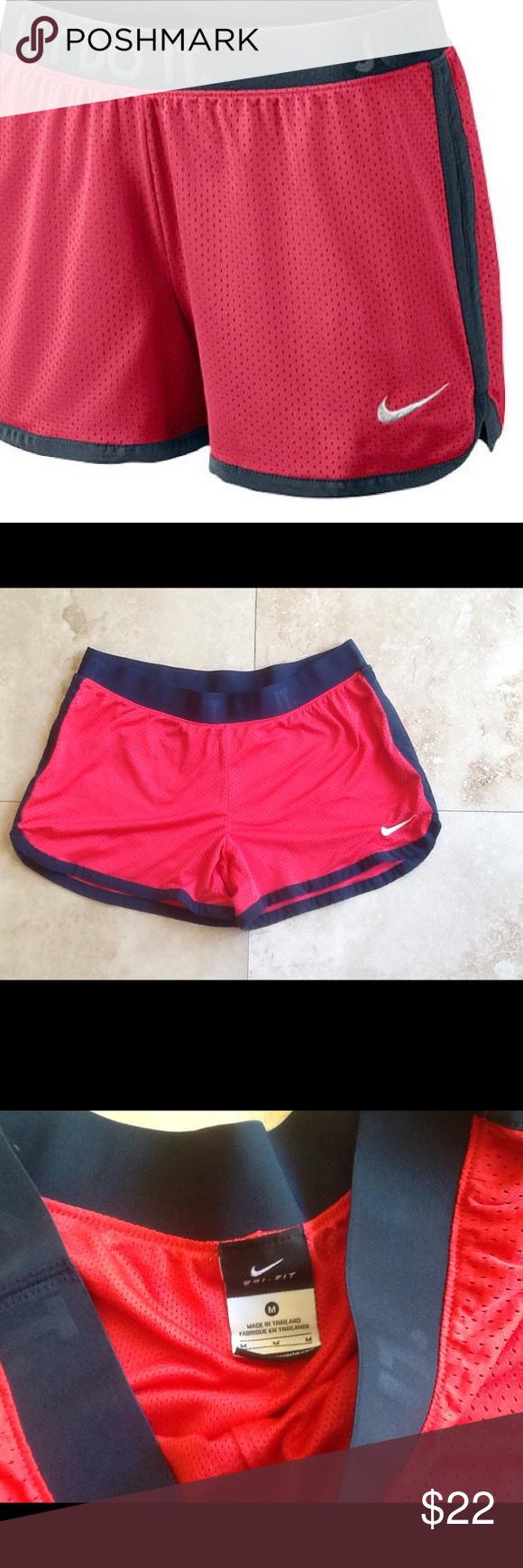 Nike Icon Mesh Shorts NWOT NWOT Nike Icon Mesh shorts. JUST DO IT on waist band.Dri- Fit material. Nike Shorts