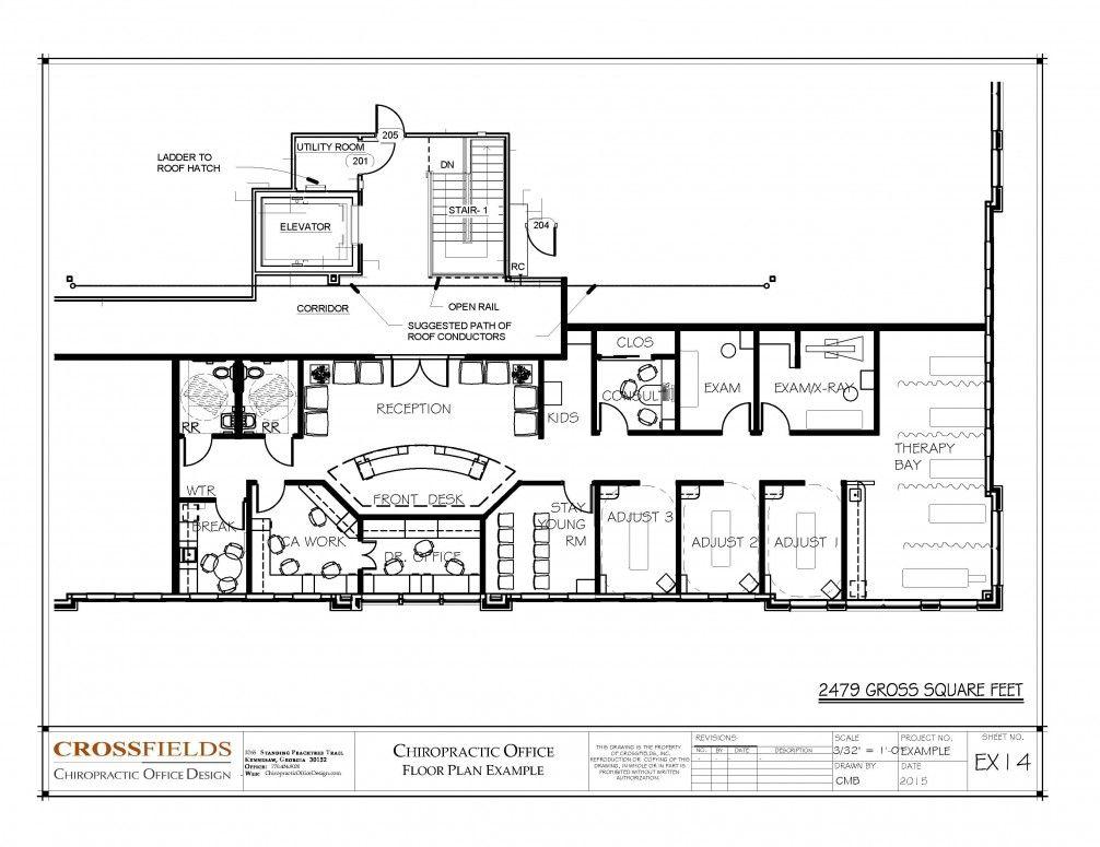 Best Chiropractic Floor Plans Images On   Desk Ideas