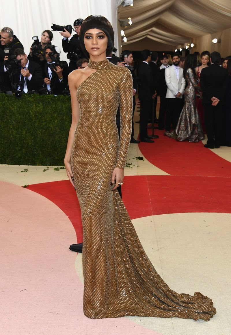 9eed90987c All The Times Zendaya Was A Chameleon On The Met Gala Red Carpet - MTV