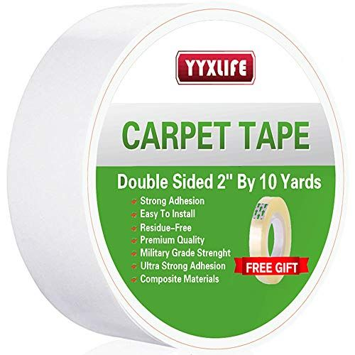Yyxlife Double Sided Carpet Tape For