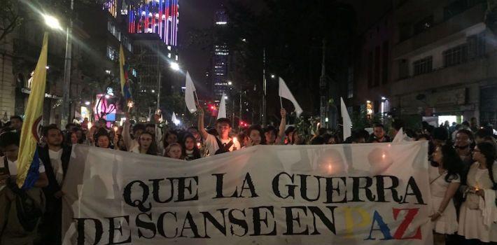 Multitudinaria marcha en Colombia exige paz con FARC - PanAm Post
