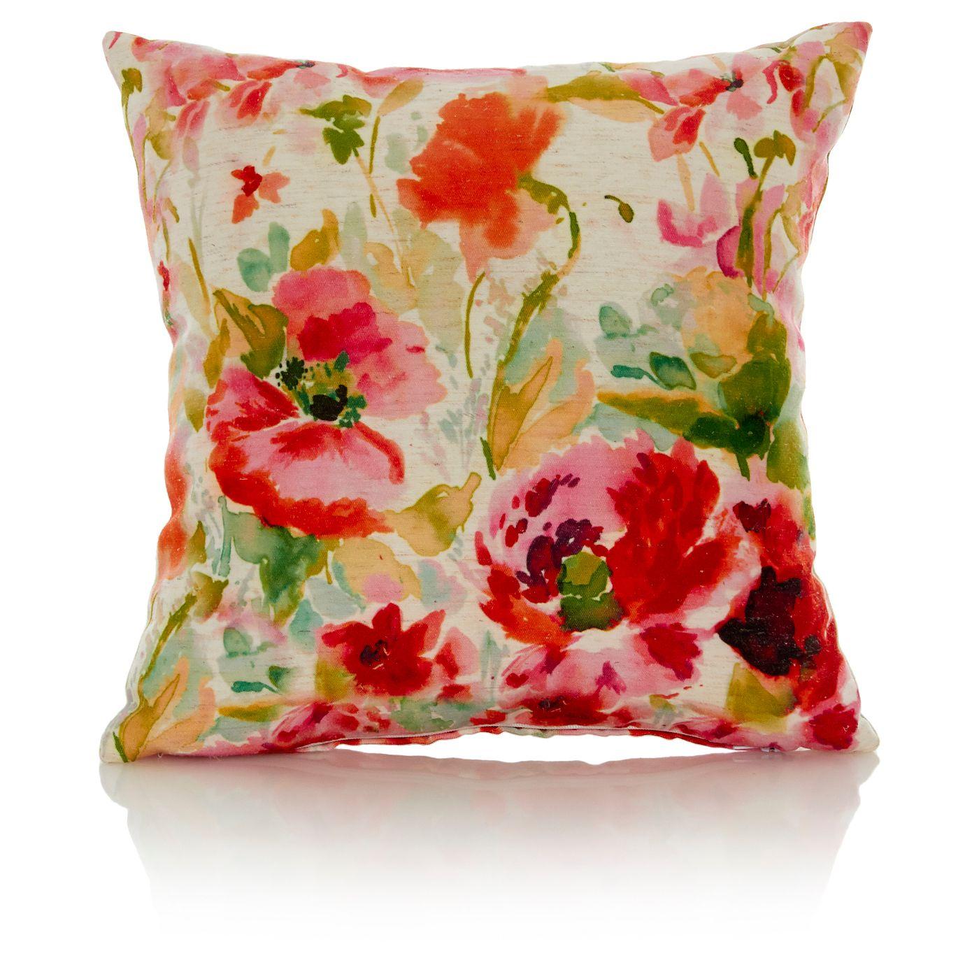 George Home Watercolour Floral Cushion Cushions