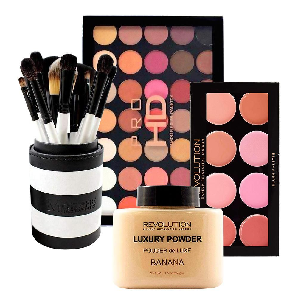 Face & Set + Free Makeup Revolution Luxury Banana Baking