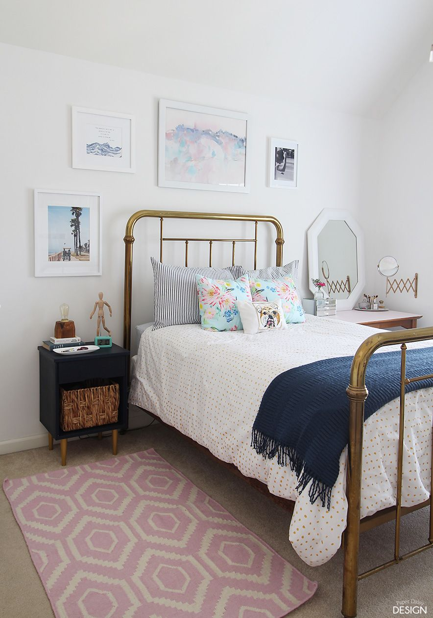 Modern Girls Bedroom: Young Modern Vintage Bedroom