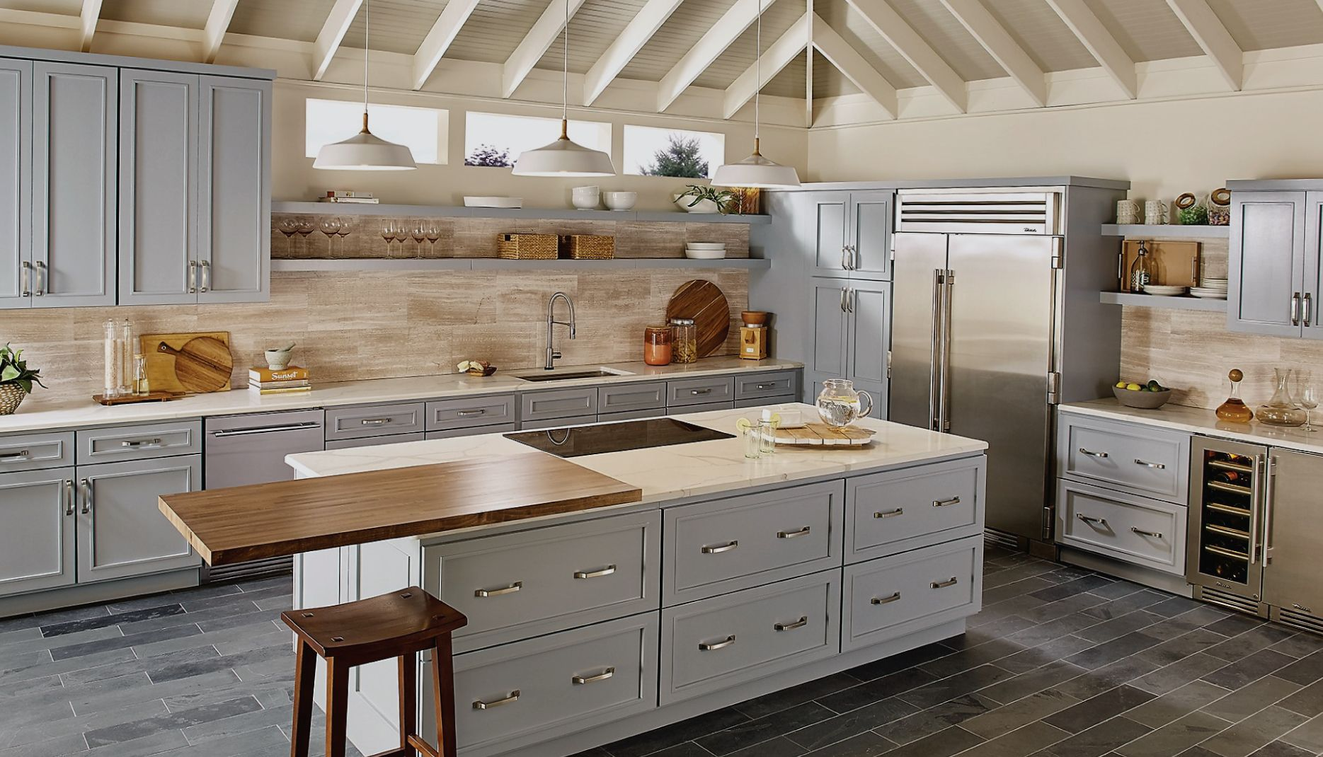 Silex Interiors | Kitchen cabinet colors, Bertch cabinets ...