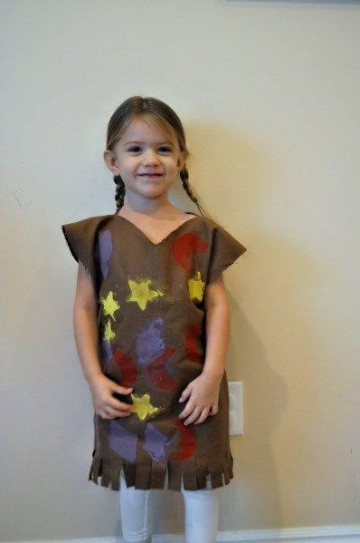 Simple Homemade Native American Costume  Costumes -2852