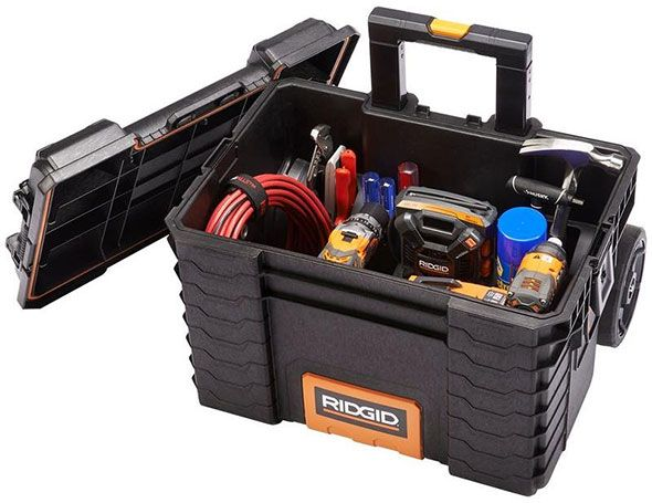 ridgid pro tool box cart filled with tools | 工具箱 in 2018 ...