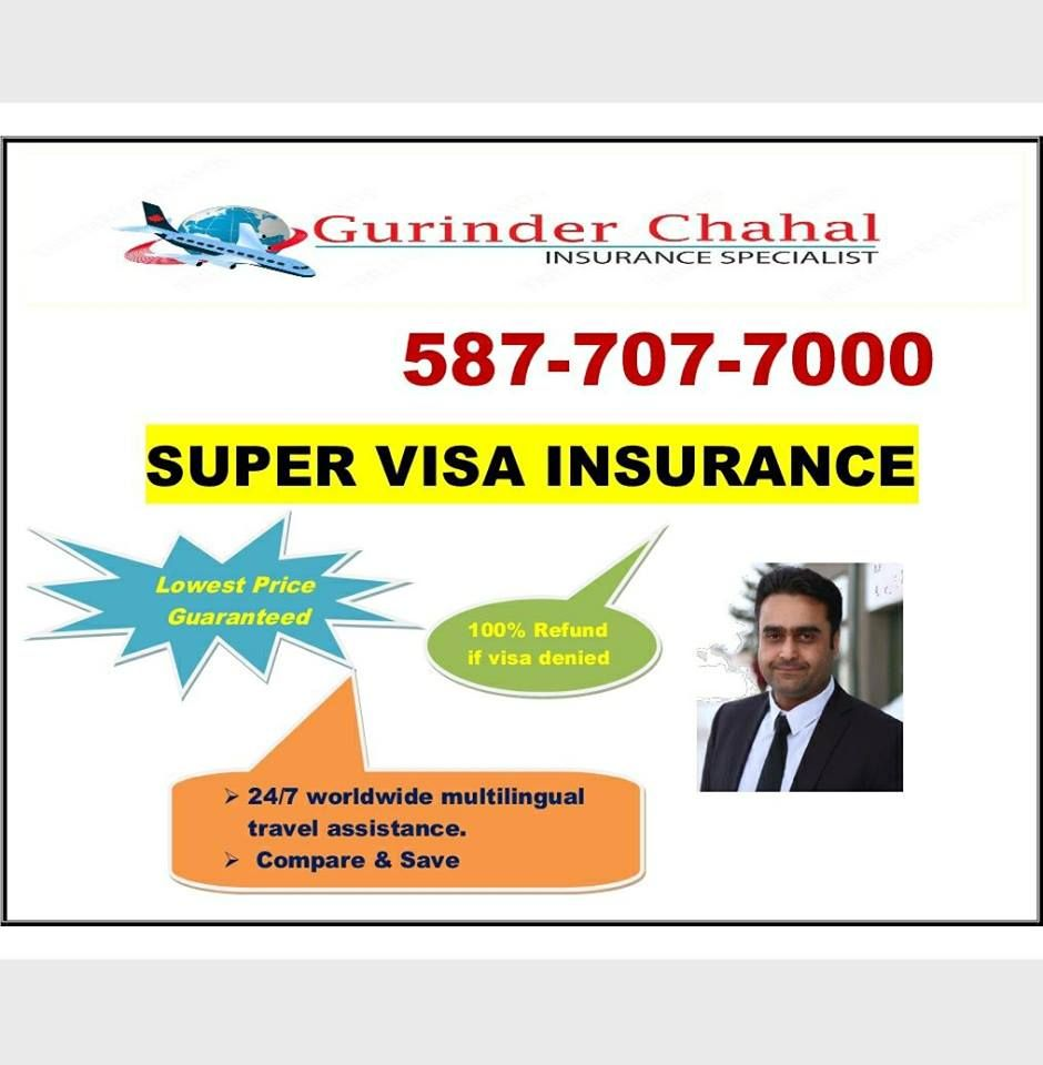 Super Visa Insurance 587 707 7000 Visitor Medical Insurance