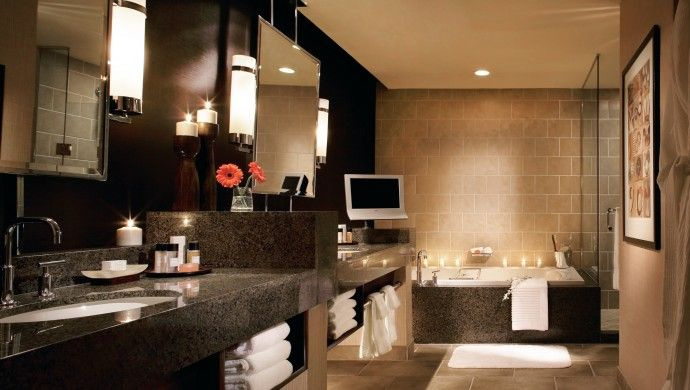 palms casino resort vegas the bathrooms of salon suites are indulgent with a - Bathroom Accessories Las Vegas