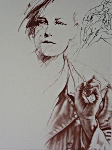 Arthur Rimbaud Par Ernest Pignon Ernest Pignon Ernest Art Urbain Croquis Urbain
