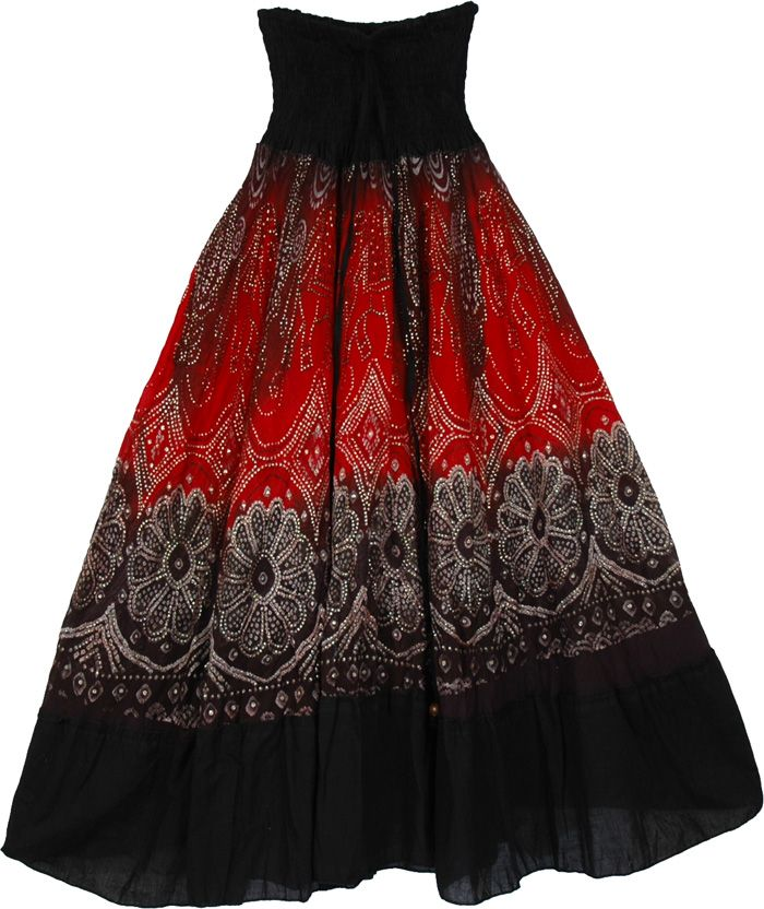 Women's Clothing 2019 Latest Design Womens Reversible Boho Wrap Skirt Made In India To Suit The PeopleS Convenience