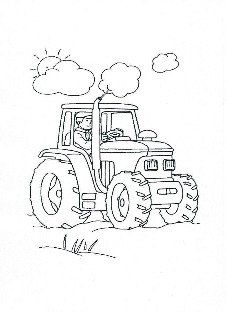 traktor omalovánka | kouzelná slova | Pinterest | Coloring pages ...
