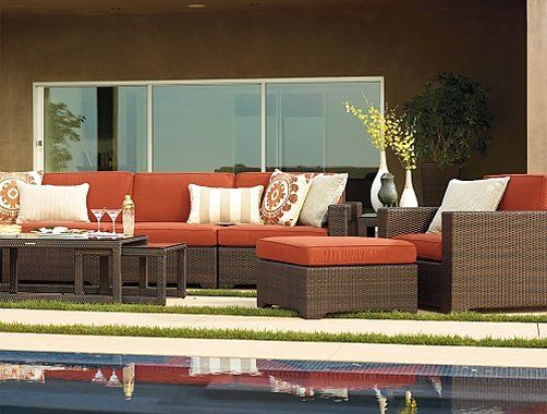 Frontgate Palermo Collection   Outdoor Furniture Sets