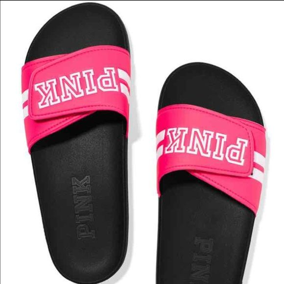 9e15f5917a3 M-Vs pink slides BRAND NEW IN PACKAGING SIZE MEDIUM PINK Victoria s Secret  Shoes Sandals