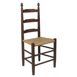 Nice E.A. Clore Sons, Inc. Ladder Back Chair