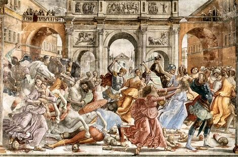 Ghirlandaio : Le Massacre des Innocents.