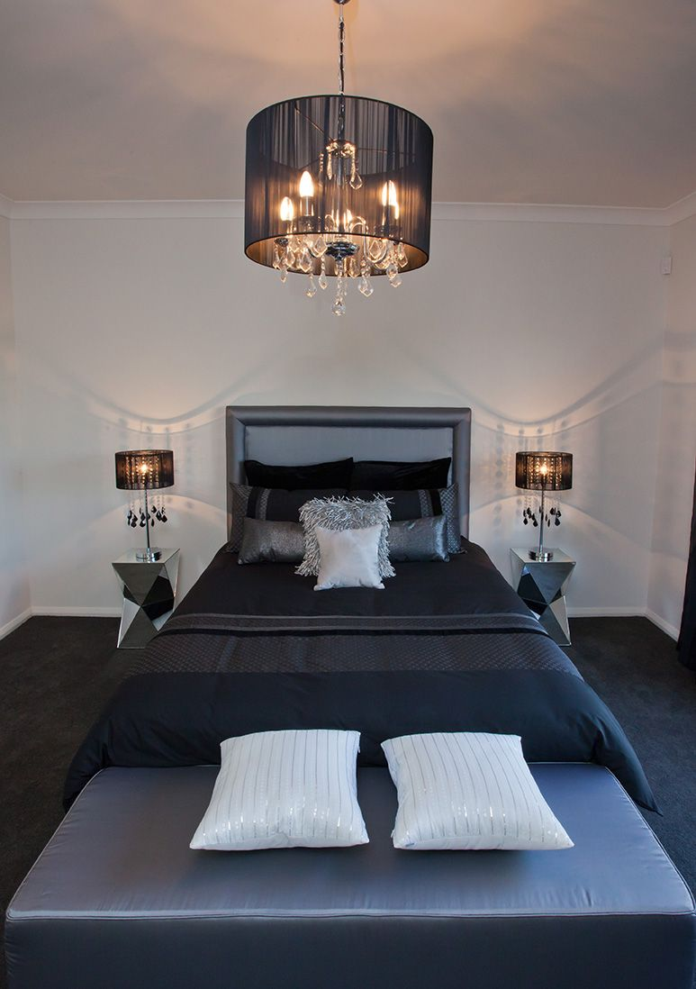 Love The Matching Ceiling And Bed Side Table Lighting And The
