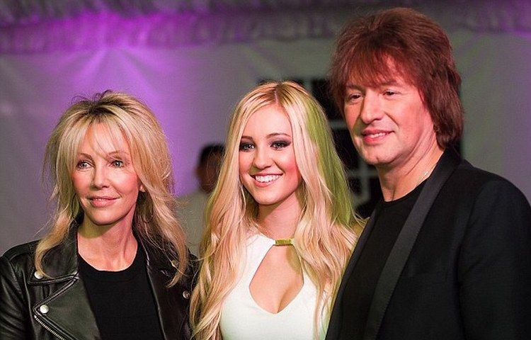 Heather Locklear Richie Sambora Ava Elizabeth Sambora Divorce