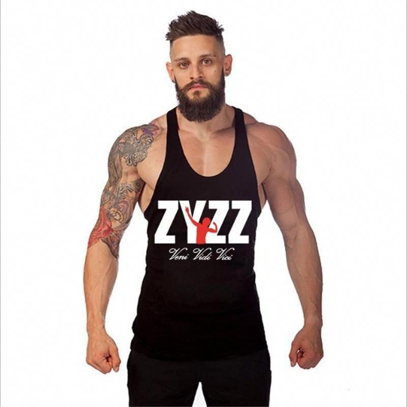 ZYZZ  Men's Bodybuilder Tank